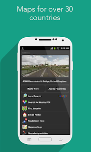 Navfree: Free GPS Navigation - screenshot thumbnail