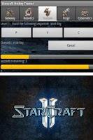 Screenshot of Starcraft Hotkey Trainer