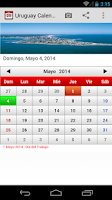 Screenshot of Uruguay Calendario 2015