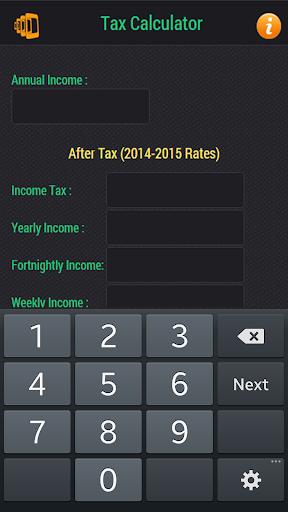 Aussie tax Calculator