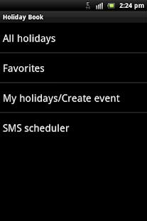 Holiday Book- screenshot thumbnail