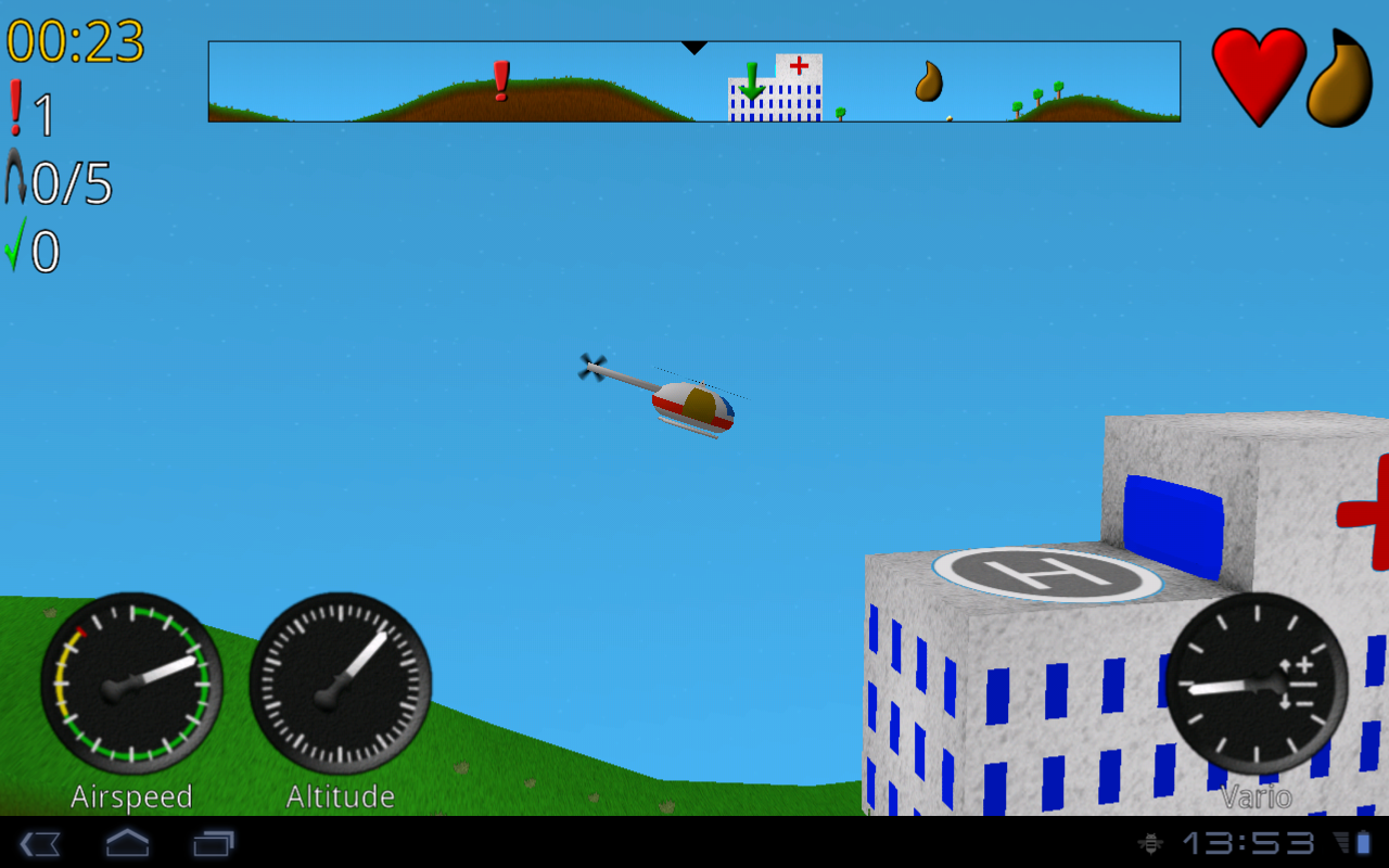 Rescue Pilot - screenshot