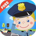 Kids Policeman Free icon
