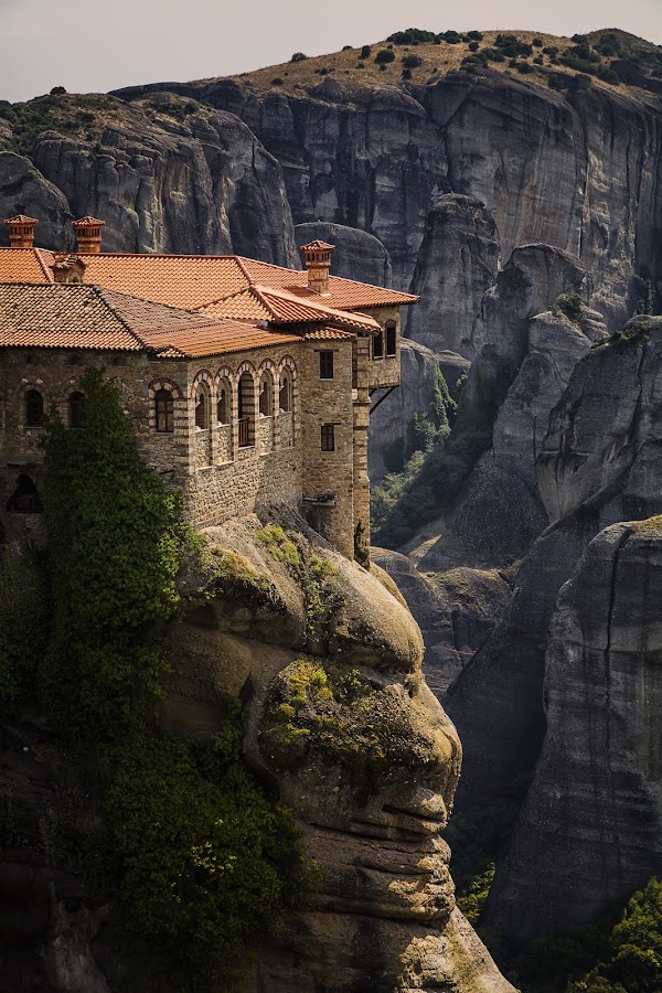 Meteora by Ева Йорданова - Buildings & Architecture Public & Historical ( monastery, stones, rocks,  )