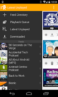 Receiver Podcast Manager - screenshot thumbnail