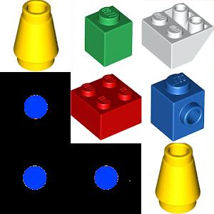 Lego Match 解謎 App LOGO-APP試玩