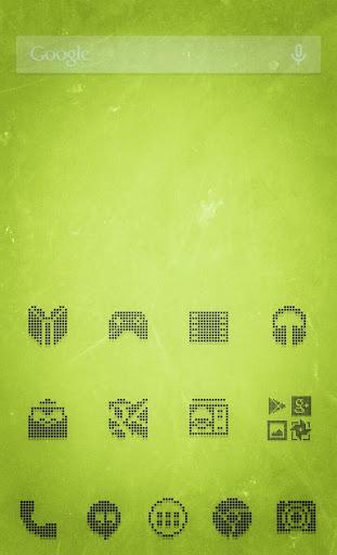 1-BIT BLACK Icon Theme