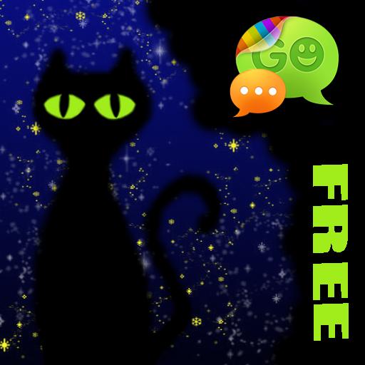 GO短信Pro的魔術貓主題 個人化 App LOGO-硬是要APP