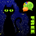 Magic Cats Theme for GO SMS icon
