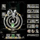 Zodiac ADWTheme Jewelled Aries