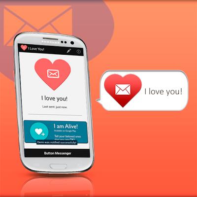 Love SMS Messenger - screenshot