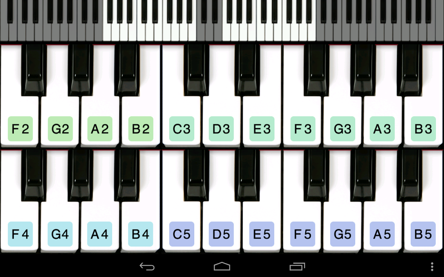 Piano for you android apps on google play piano for you screenshot hexwebz Image collections