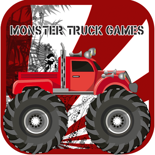 怪物卡车游戏 賽車遊戲 App LOGO-APP試玩