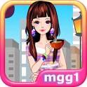 Coffee Girl Dress Up icon
