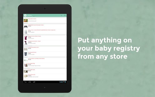 BabyList Baby Registry - Android Apps on Google Play