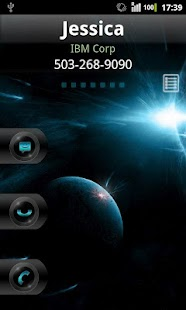 Rocket Caller ID Space Theme- screenshot thumbnail