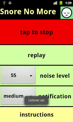 【免費健康App】Snore No More-APP點子