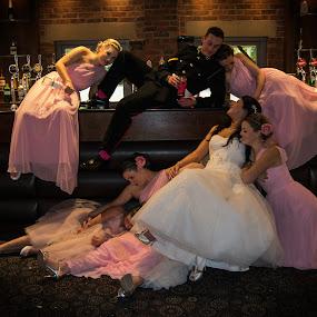 by Jo Darlington - Wedding Reception ( wedding, people )