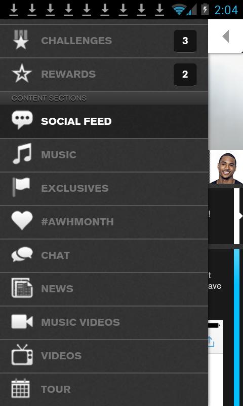 Trey Songz - The Angel Network - screenshot