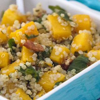 Roasted Butternut Squash Quinoa Salad (gluten-free and vegetarian)
