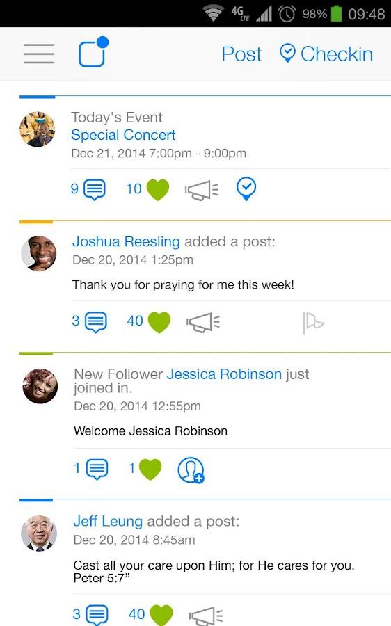 SmartChurch - screenshot