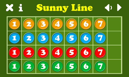 SunnyLine - 7 In a Row