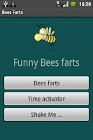 Screenshot of Bees Farts aka fart machine