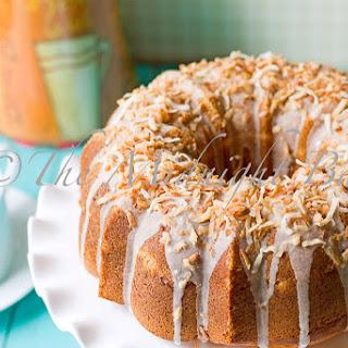 Coco Lemon Pound Cake.