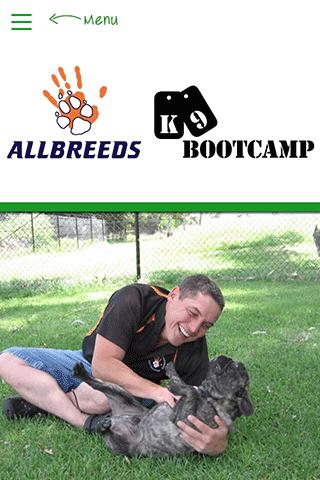 Allbreeds K9 Bootcamp