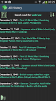 Screenshot of This Day In History