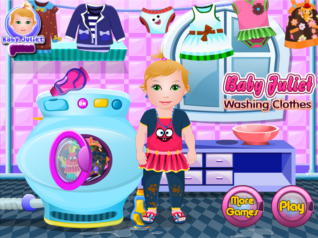 baby juliet washing clothes android apps on google play
