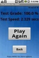 Screenshot of Math Wizard Lite
