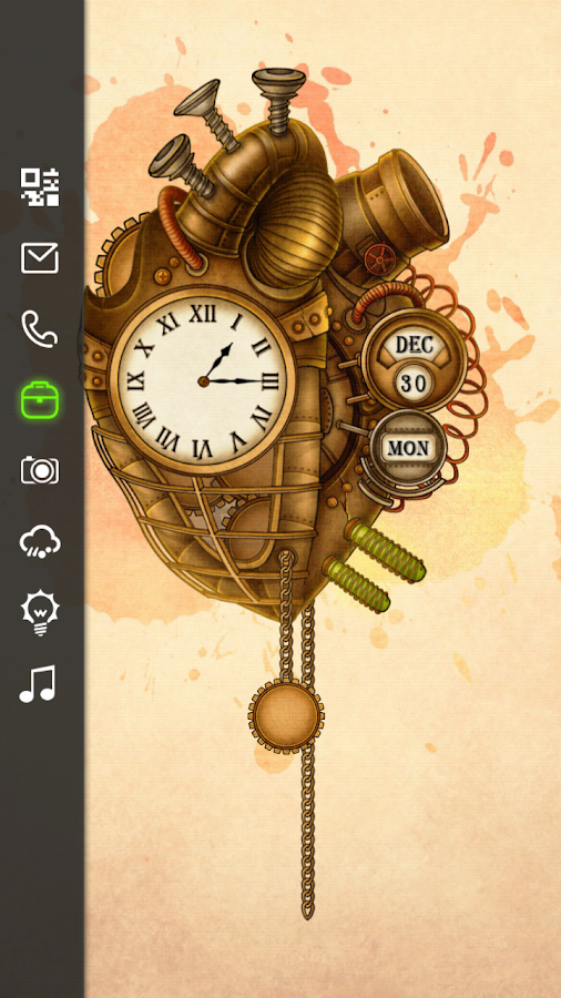 SteamPunk Live Locker Theme - screenshot