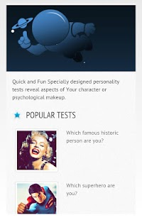 Testronaut - Personality tests- screenshot thumbnail