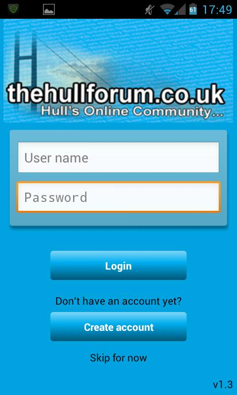 The Hull Forum - screenshot