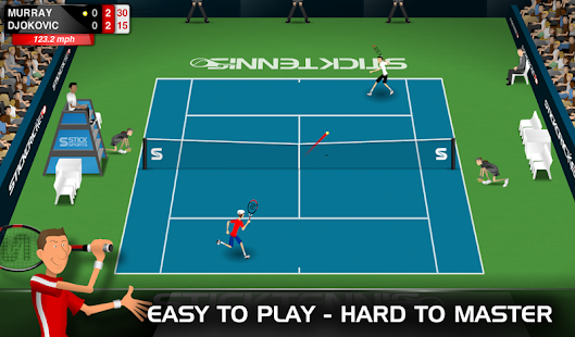 Stick Tennis Screenshot 21
