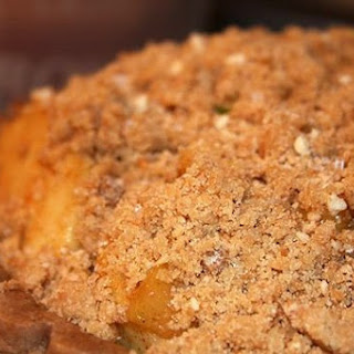 Caramel Apple Crumb Pie.