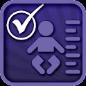 BABY MILESTONES CHECKLIST logo