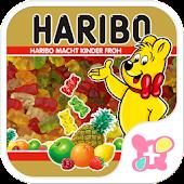 HARIBO for[+]HOMEきせかえテーマ