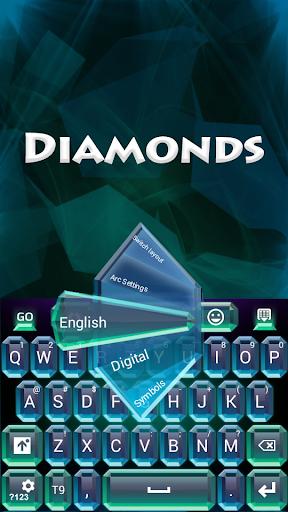 GO键盘钻石