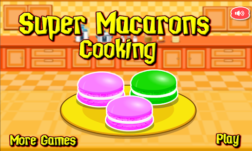 Super Macaroons Cooking Games