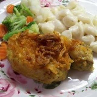 Mustard Onion Pork Chops.