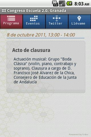 Escuela 2.0- screenshot