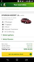 Screenshot of Europcar – Car Rental App