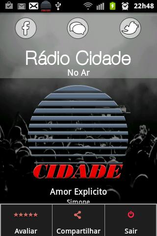 【免費音樂App】Rádio Cidade-APP點子