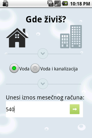 Vodi računa o vodi- screenshot