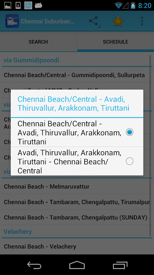chennai local train time table pdf