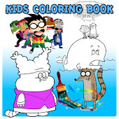 Kids Games Colouring Book