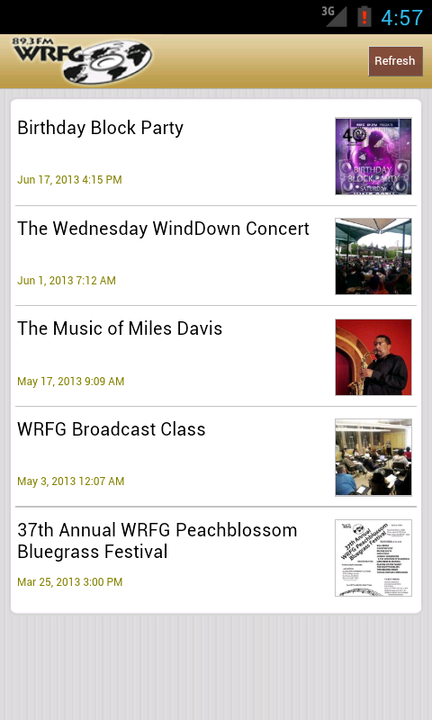 WRFG 89.3 FM - screenshot