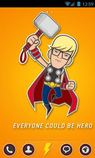 你就是英雄 -Wan GO桌面主题